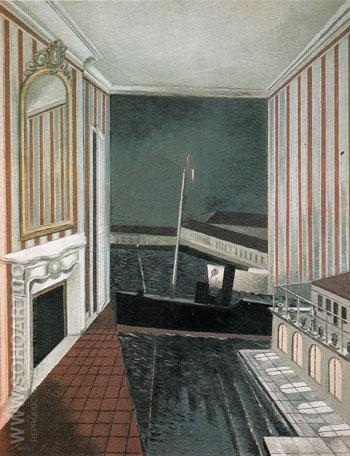 Harbour and Room c1932 - Paul Nash reproduction oil painting