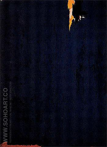 Untitled 353 1953 - Clyfford Still reproduction oil painting