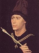Portrait of Antoine de Bourgogne c1460 - Rogier van der Weyden