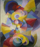 Conception Synchromy, 1914 - Stanton MacDonald Wright