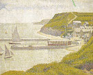 Port en Bessin Outer Harbour at Flood Tide 1888 - Georges Seurat