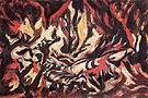 The Flame c1934 - Jackson Pollock
