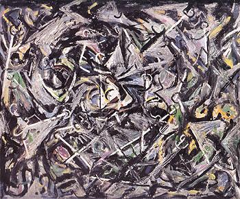 Portrait of H M 1945 - Jackson Pollock reproduction oil painting