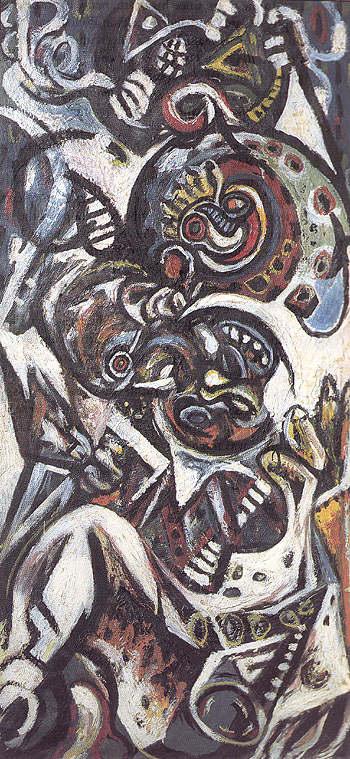 Birth c1938 - Jackson Pollock reproduction oil painting