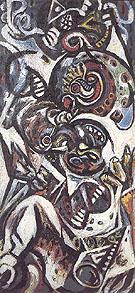 Birth c1938 - Jackson Pollock