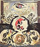 Bird 1941 - Jackson Pollock reproduction oil painting