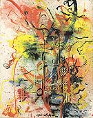 Burning Landscape 1943 - Jackson Pollock reproduction oil painting