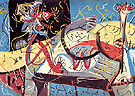 Stenographic Figure 1942 - Jackson Pollock reproduction oil painting
