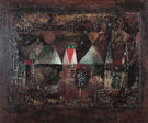 Nocturnal Festivity 1921 - Paul Klee reproduction oil painting