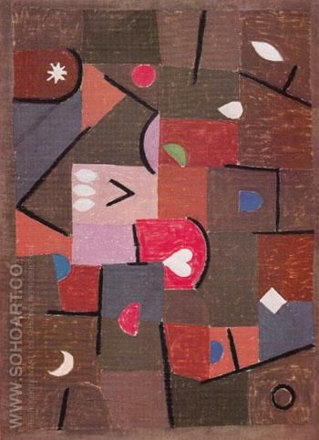 Jewels 1937 - Paul Klee reproduction oil painting