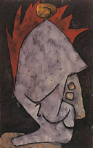 Mephisto as Pallas 1939 - Paul Klee reproduction oil painting