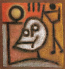 Death and Fire 1940 - Paul Klee reproduction oil painting