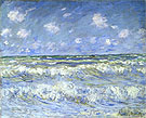 A Stormy Sea c1888 - Claude Monet reproduction oil painting
