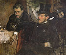 Jeantaud Linet and Laine 1871 - Edgar Degas reproduction oil painting