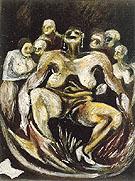 Woman c1930 - Jackson Pollock