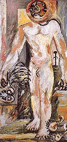 Naked Man c1938 - Jackson Pollock