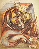 Untitled c1939 - Jackson Pollock