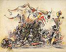 War 1947 - Jackson Pollock