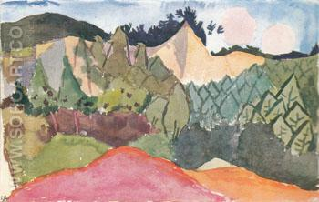 In the Quarry 1913 - Paul Klee reproduction oil painting