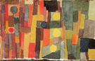 In The Style of Kairouan Transferred to the Moderate 1914 - Paul Klee reproduction oil painting