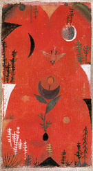 Flower Myth 1918 - Paul Klee reproduction oil painting