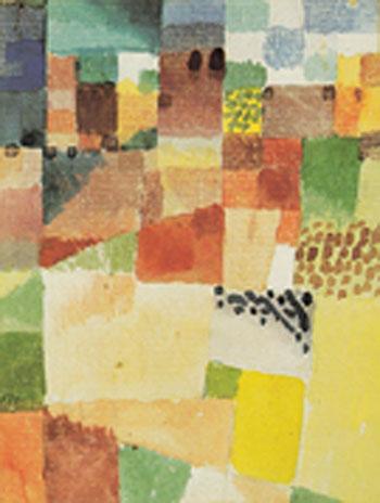 Hammamet Motif 1914 - Paul Klee reproduction oil painting