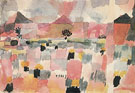 Saint Germain near Tunis 1914 - Paul Klee reproduction oil painting