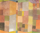 Quarry at Ostermundigen 1915 - Paul Klee reproduction oil painting