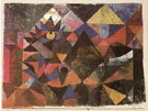 Cacodemonic 1916 - Paul Klee reproduction oil painting