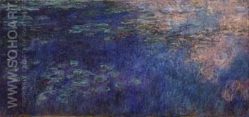 Water Lilies c1914 - Claude Monet reproduction oil painting
