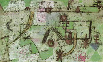 In Bachs Style 1919 - Paul Klee reproduction oil painting