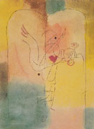 Genie Serving a Light Breakfast 1920 - Paul Klee reproduction oil painting