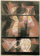 Nocturne for Horn 1921 - Paul Klee reproduction oil painting