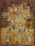 God of the Northern Woods 1922 - Paul Klee reproduction oil painting