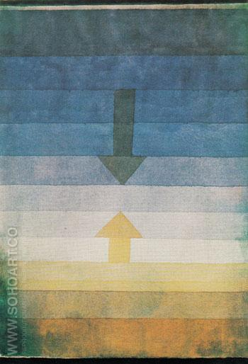 Separation in the Evening 1922 - Paul Klee reproduction oil painting