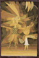 Genies Figures from a Ballet 1922 - Paul Klee reproduction oil painting