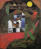 Villa R 1919 - Paul Klee reproduction oil painting