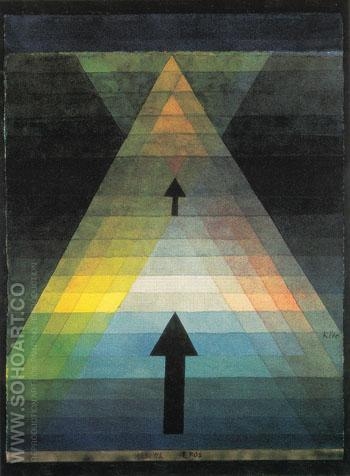 Eros 1923 - Paul Klee reproduction oil painting