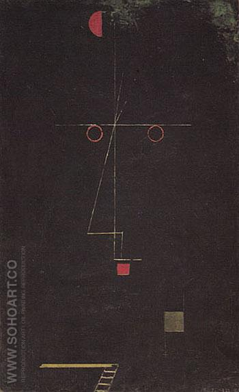 Portrait of an Acrobat 1927 - Paul Klee reproduction oil painting