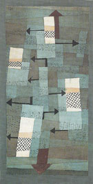 Wavering Balance 1922 - Paul Klee reproduction oil painting