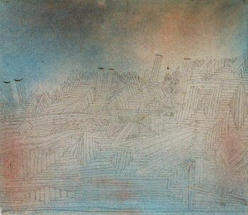 Olympus in Ruin 1926 - Paul Klee reproduction oil painting
