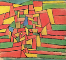 Garden By The Stream 1927 - Paul Klee reproduction oil painting