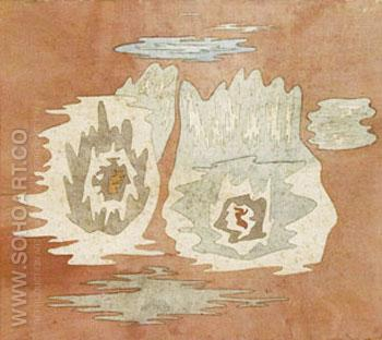 The Place of the Twins 1929 - Paul Klee reproduction oil painting