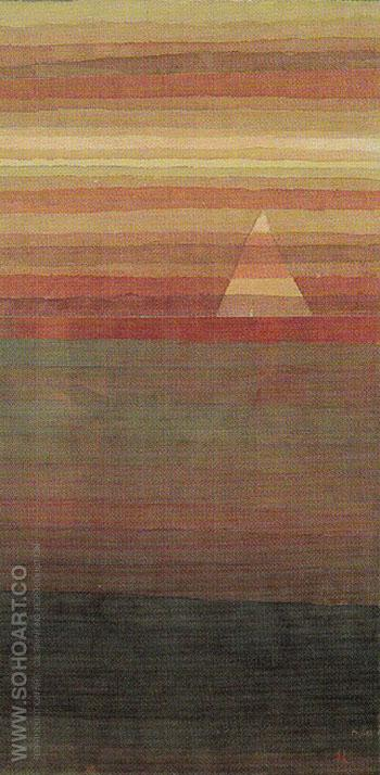 Lonely 1928 - Paul Klee reproduction oil painting