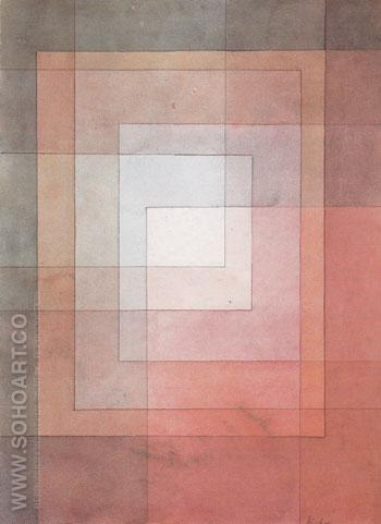 Polyphonic Setting for White 1930 - Paul Klee reproduction oil painting