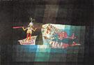Battle Scene the Comic Opera The Seafarer 1923 - Paul Klee