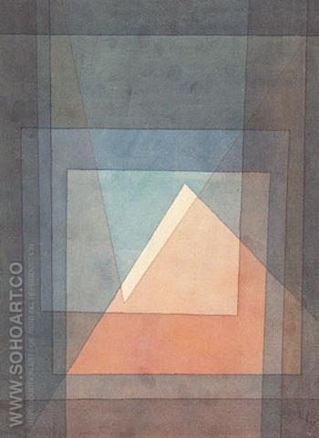 Pyramid 1930 - Paul Klee reproduction oil painting
