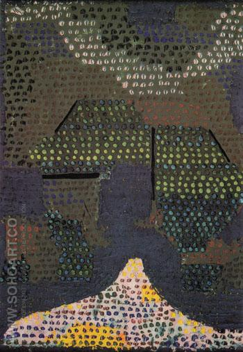 Evening in the Valley 1932 - Paul Klee reproduction oil painting