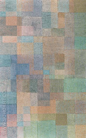 Polyphony 1932 - Paul Klee reproduction oil painting