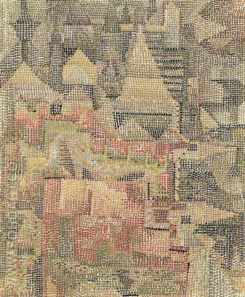 Place Garden 1931 - Paul Klee reproduction oil painting